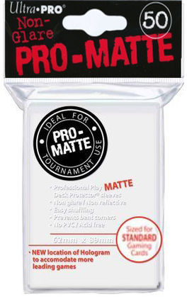 Deck Protector Mate (50) White (Blanco) Ultra Pro
