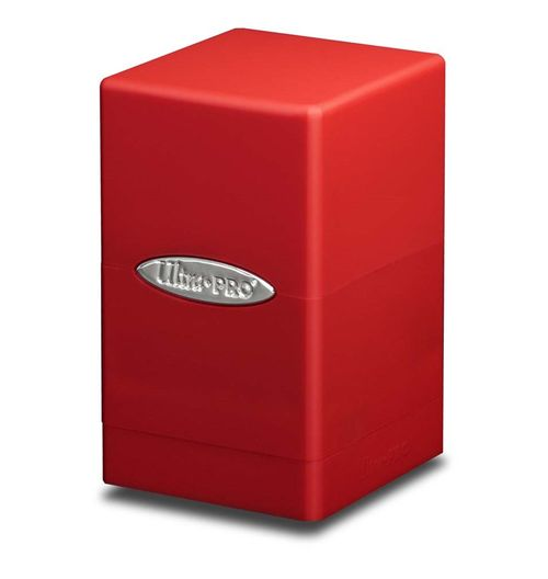 Deck Box Satin Tower Red (Rojo)