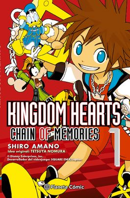 Kingdom Hearts. Chain of memories 01