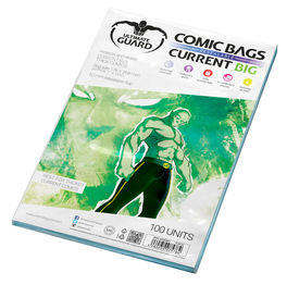 Comic bags (fundas) Current Size Resealable. Ultimate Guard