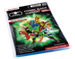 Comic bags (fundas) Current Big resealable. Ultimate Guard
