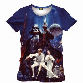 Camiseta Star Wars, Cartel,  Ep. IV, S