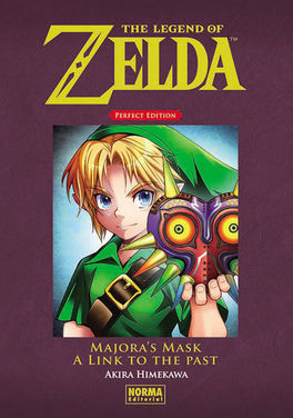 "The Legend of Zelda. Perfect Edition 02. ""Majora's Mask"" y ""A Link to the Past"""