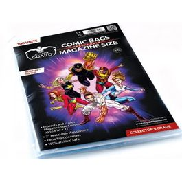 Comic bags (fundas) Magazine Size Resealable. Ultimate Guard