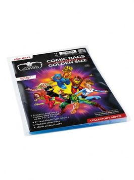 Comic bags (fundas) Golden Size Resealable. Ultimate Guard