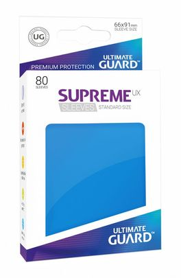 Fundas Supreme UX (Deck Protector 80) Azul Real- Ultimate Guard