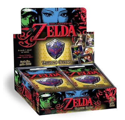 The Legend of Zelda: Cartas coleccionables (Caja de 24 sobres)