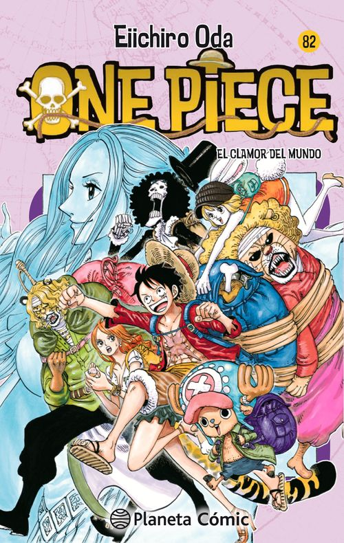 One Piece 82. El clamor del mundo