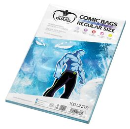 Comic bags (fundas) Regular Size Resealable. Ultimate Guard