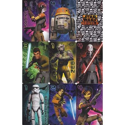 "Star Wars. Baraja de cartas ""Star Wars Rebels"""