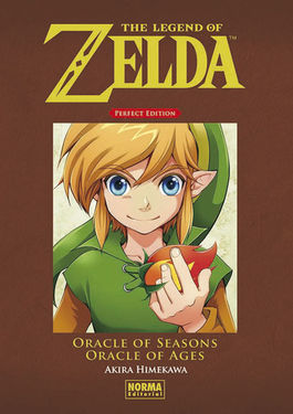 "The Legend of Zelda. Perfect Edition 04. ""Oracle of Seasons"" y ""Oracle of Ages"""