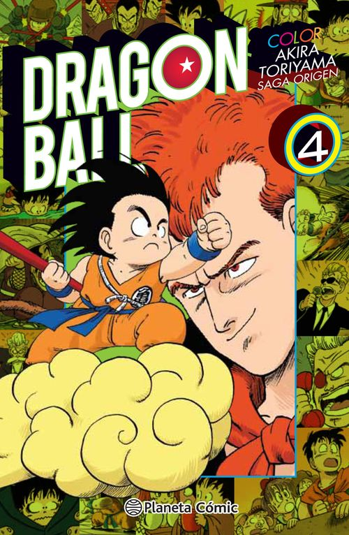 Dragon Ball Color Origen y Red Ribbon