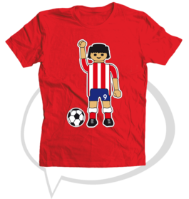 "Camiseta ""Play Atlético"""