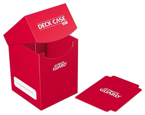 Deck Case (100+) Red (Roja). Ultimate Guard