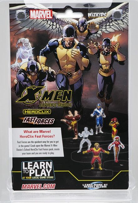 Heroclix. X-Men Xavier's School. Fast Forces