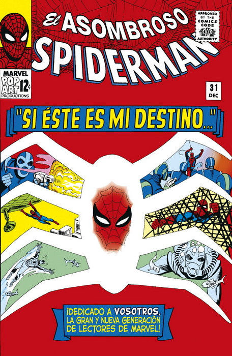 Marvel Facsimil, spiderman, si esta es mi destino